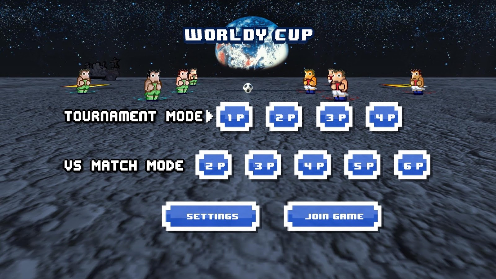 Worldy Cup -Super power soccer- screenshot