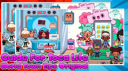 دليل للحصول على لقطات شاشة T0CA LIFE World Town Tips pro 1