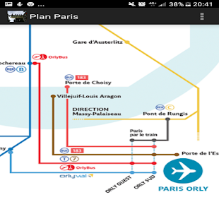 Map transport of Paris - náhled