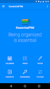 EssentialPIM Pro v5.8 b5113 MOD APK – Your Personal Information Manager 1