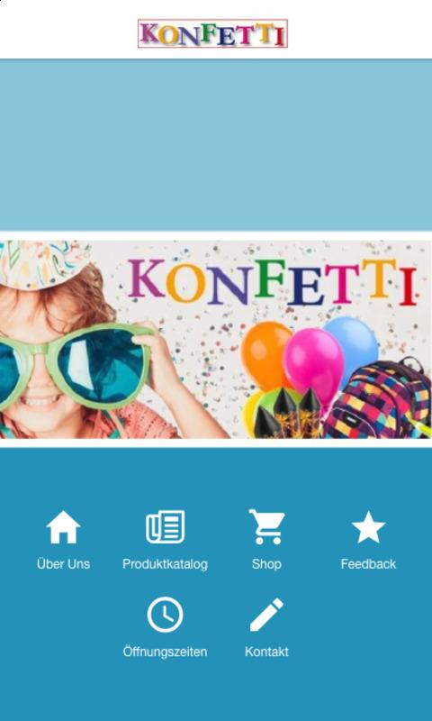 Konfetti GmbH- screenshot