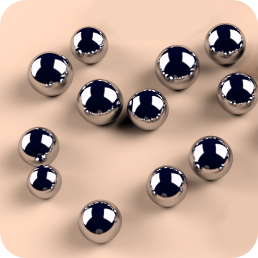 Roll Balls into a hole (game)
