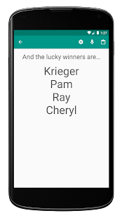 Random Name Picker - Raffles, Decisions, Groups - náhled