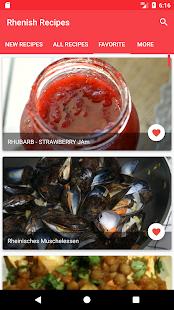 German Rhenish Recipes - náhled