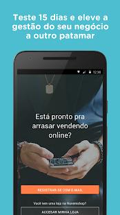 Nuvem Shop: criar loja virtual - náhled