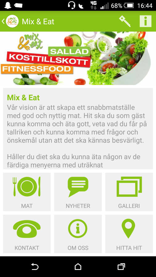 Mix & Eat- screenshot
