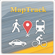 MapTrack  GPS real time track - Androidアプリ