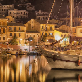 Cala Gavetta by Maurizio Mameli - Landscapes Waterscapes ( la maddalena, urbex, isle, sardinia, cala gavetta, night, travel, light, italy )