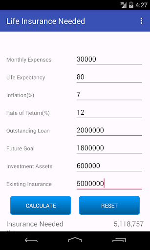 Insurance Calculator n Policy