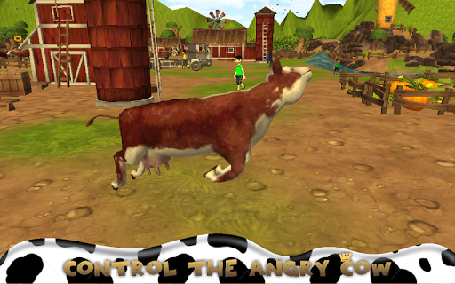 My Angry Cow Run Simulator 3D