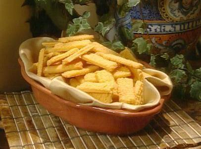 Paula Deen's Cheese Straws Recipe