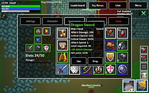Heroes & Rats MMORPG Online  captures d'écran 2