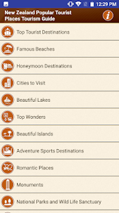 New Zealand Popular Tourist Places Tourism Guide - náhled