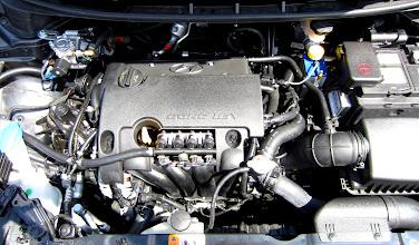 Photo: Motorraum nach Umrüstung