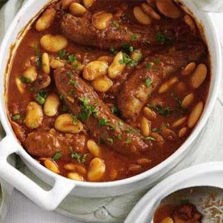 Sausage & Bean Hotpot
