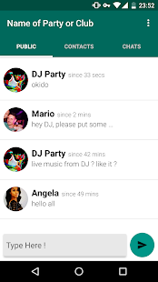EnterTheParty Messenger- screenshot thumbnail