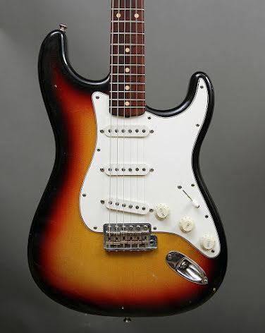 Fender Custom Shop Closet Classic Stratocaster 3Tone Burst USED - Good Condition