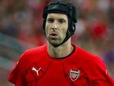 Petr Cech, de doelman van Arsenal, stopt na dit seizoen met keepen