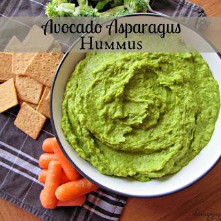 Avocado Asparagus Hummus