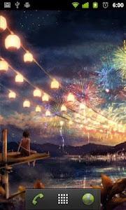 fireworks live wallpaper screenshot 1