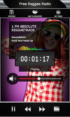 Free Reggae Radio - screenshot