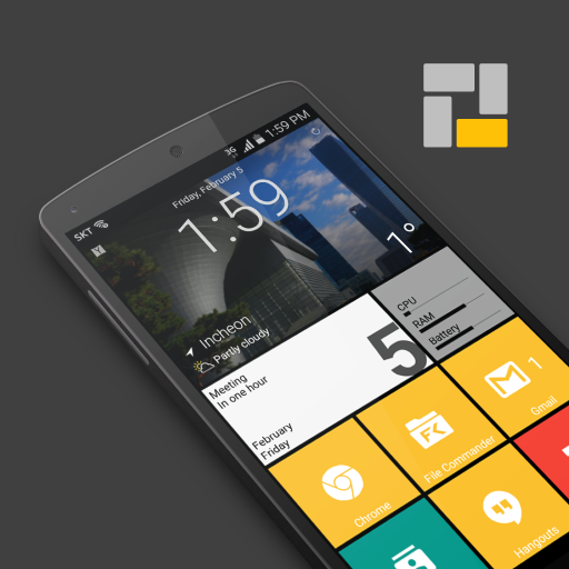 Square Home 3 - Launcher : Windows style - Apps on Google Play