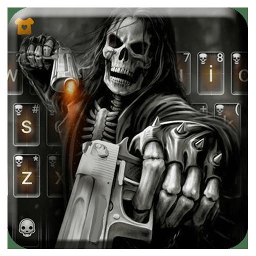 Badace Skull Guns Keyboard - cool gun theme - Apps on Google Play