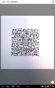 Aztec Reader Demo screenshot 4