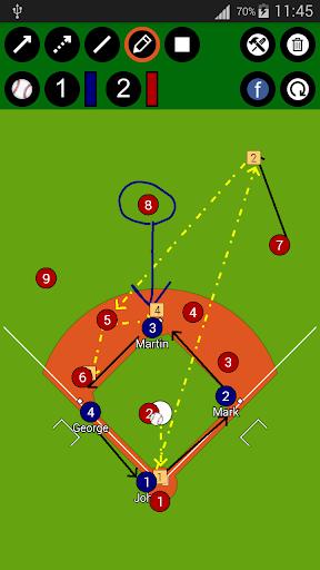 野球戦術ボード