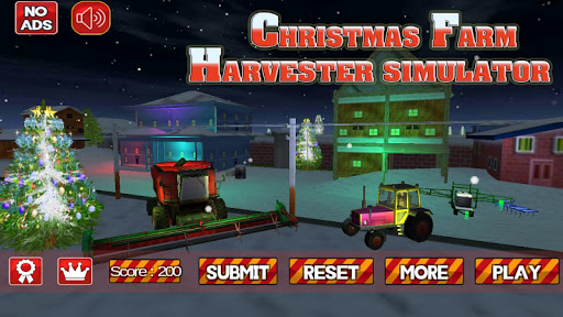 X-mas Farm Harvester Simulator