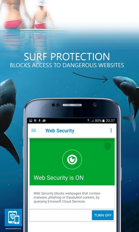 Emsisoft Mobile Security- screenshot