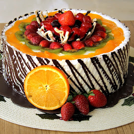 Fruit Cake by Yanti Hadiwijono - Food & Drink Candy & Dessert