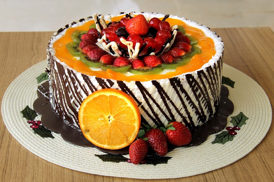 Fruit Cake by Yanti Hadiwijono - Food & Drink Candy & Dessert