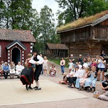 traditional Norwegian dance at the Museum of Cultural History in Oslo, Oslo, Norway