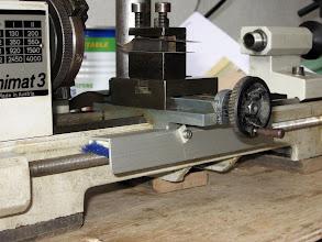 Photo: il faut protéger le bijou d'abord la vis mère avec de la moquette pour le nettoyage automatique