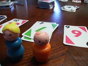 Photo: Playin' skip bo with sunny and her mom.