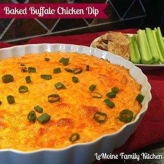 Baked Buffalo Chicken Dip.