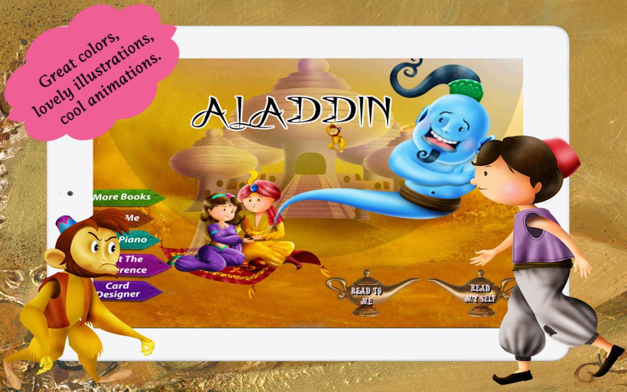 Aladdin and the Magical Lamp - Android Apps on Google Play for Aladdin And The Magic Lamp Book  76uhy