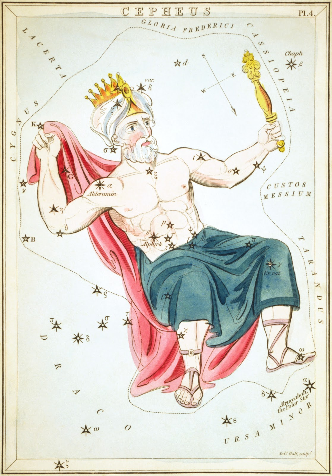 Cepheus as depicted in