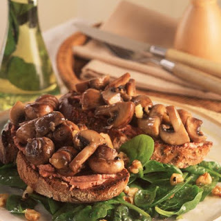 Chicken Liver and Mushroom Toasts