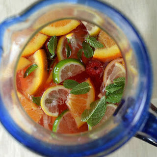 Have Another Round Because This Peach Sangria Is Packed With Vitamins