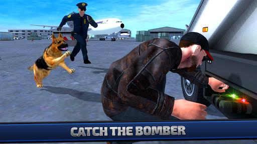 警犬机场保安3D