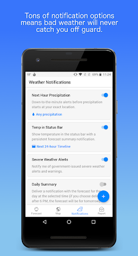 Dark Sky - Hyperlocal Weather  screenshots 6