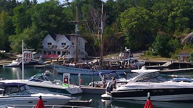 Photo: Square rig sail boat