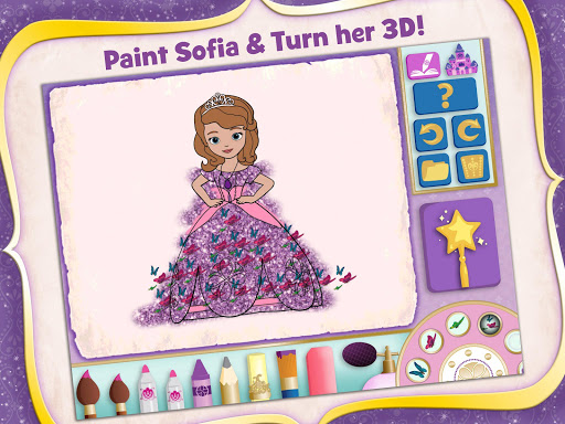 Sofia the First Color and Play