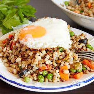 Barley and Lentil Salad