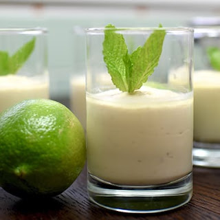 Vegan Lime Cheesecake Cups.