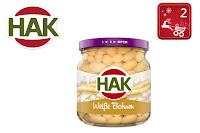 Angebot für HAK Weiße Bohnen im Glas im Supermarkt - Hak