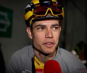 """Van Aert wint eerste etappe in Dauphiné: """"Maar ik kwam vermoeid aan in het hotel gisteren"""""""