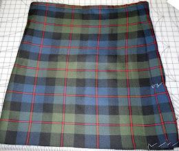 Photo: Common Kilt tartan